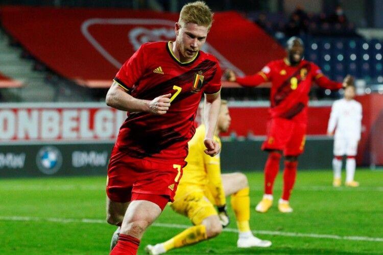 Тренерський штаб збірної Бельгії оприлюднив заявку на Євро-2020