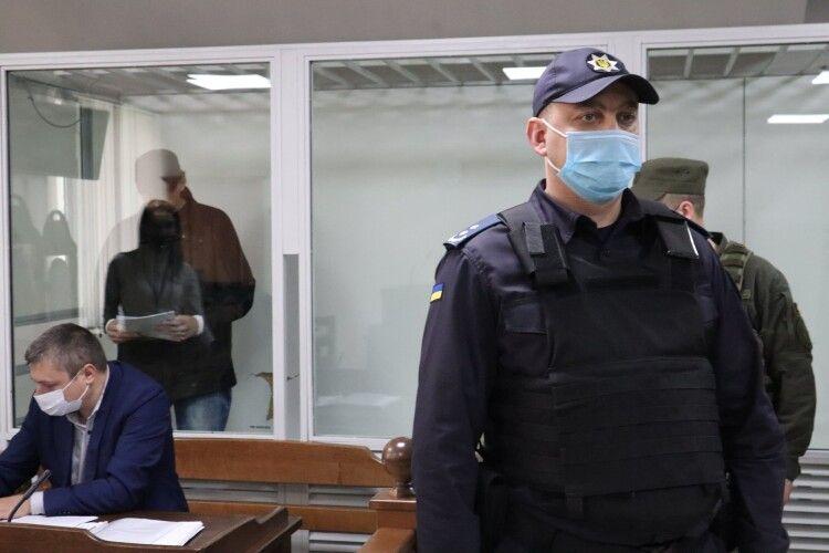 Луцький міськрайонний суд почав розгляд справи терориста Кривоша