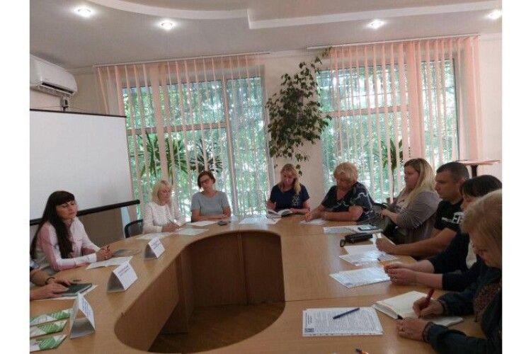 У Луцькому міському центрі зайнятості відбулося бліц-навчання для підприємців