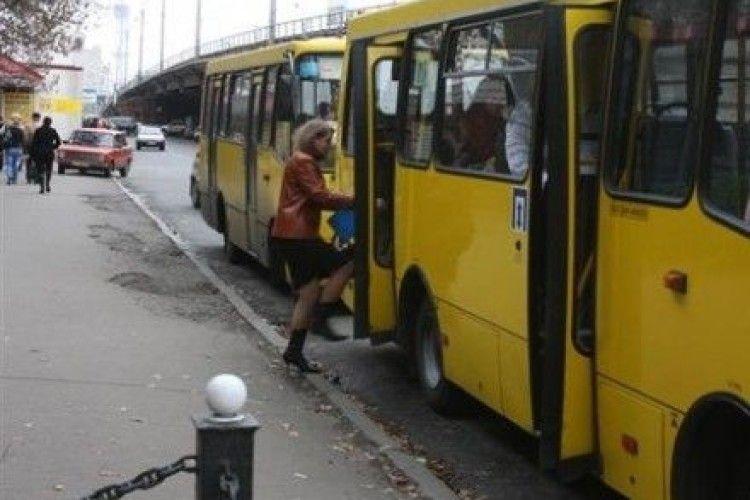 Деякі маршрутки у Луцьку їздитимуть по-іншому