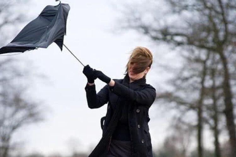 Жителів Західної України попередили про сильний вітер