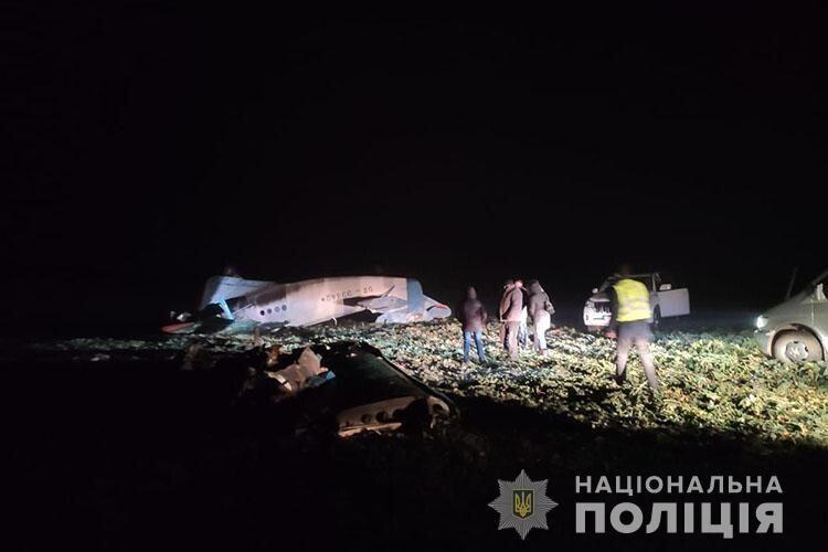 На Тернопільщині розбився літак