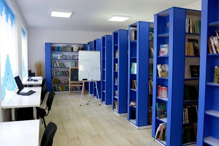 На Волині відремонтували сільську бібліотеку