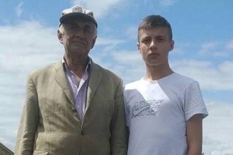 Горохівський школяр нерозгубився іврятував літнього чоловіка