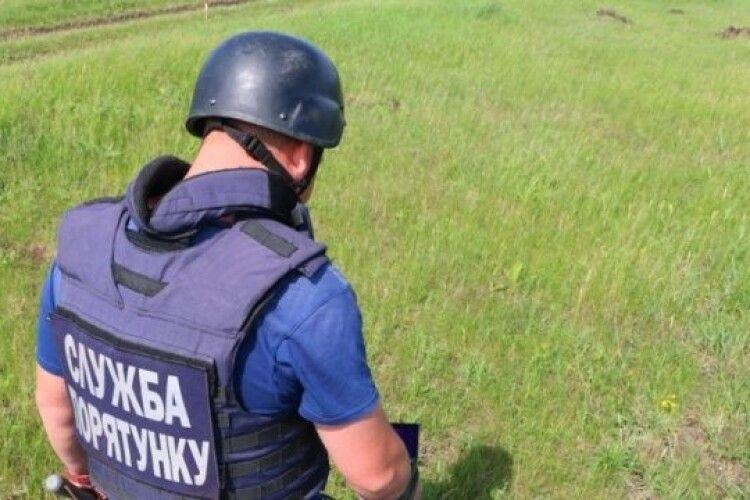 У Рожищенському районі знайшли 7 боєприпасів