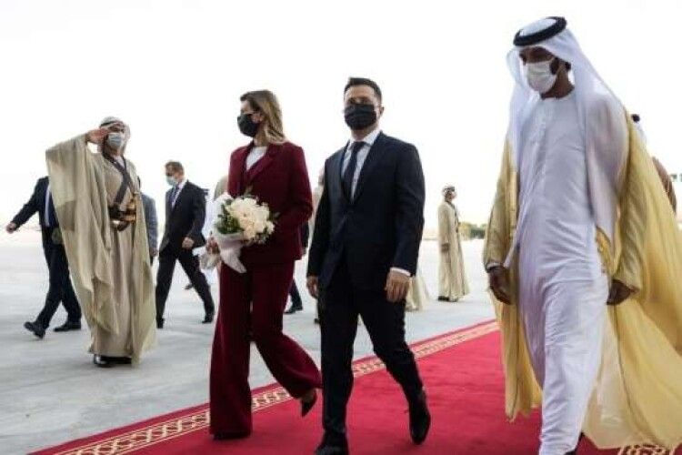На день закоханих Володимир Зеленський зустрінеться з арабським принцем