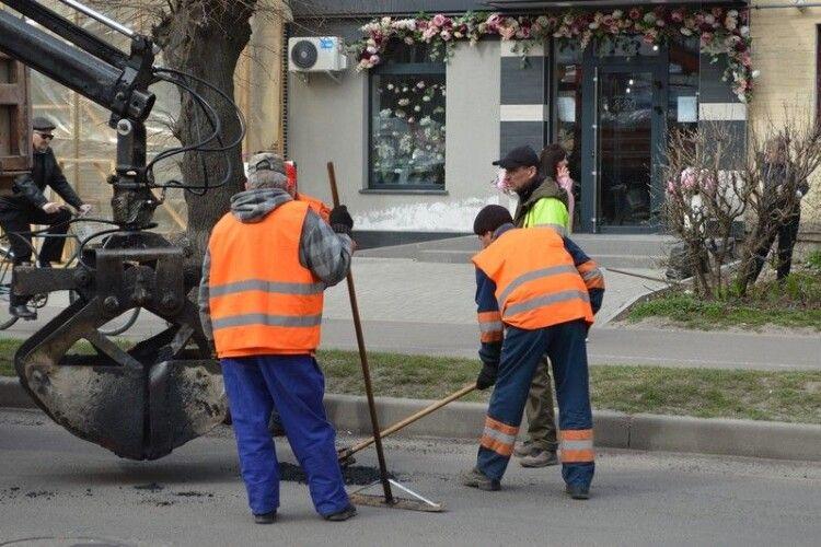 До травня у Ковелі планують залатати ями на 15 вулицях