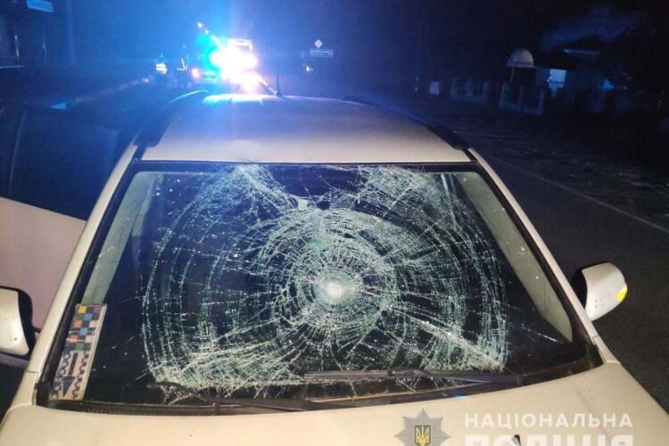 55-річну велосипедистку збила іномарка на трасі «Доманове-Ковель-Чернівці-Тереблече» (Фото)