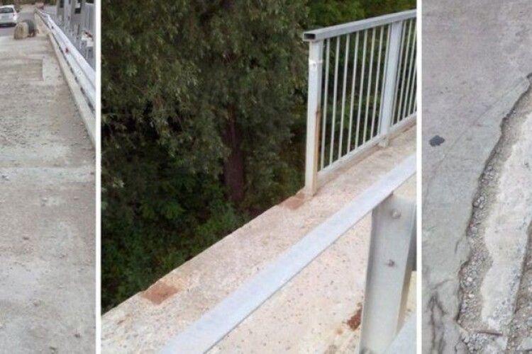 Після нібито ремонту мосту на Рівненщині судитимуть шляховика (Відео)