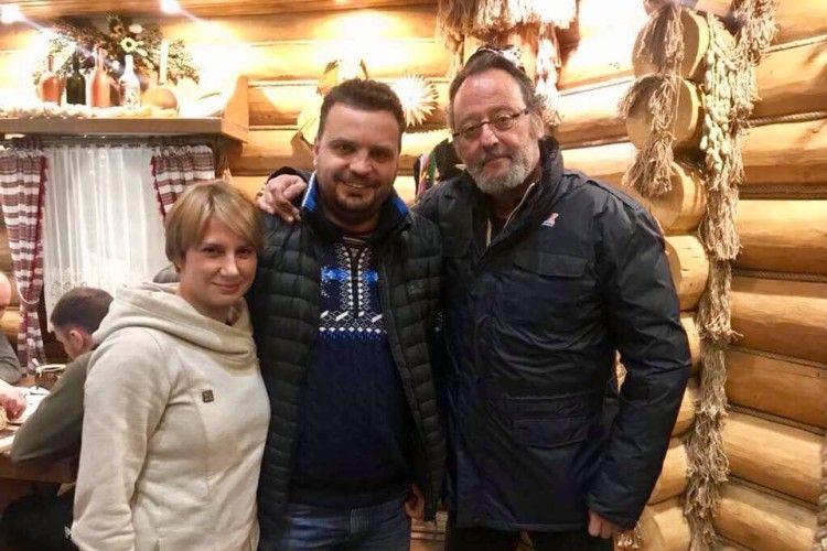 На зйомки трилера в Україну приїхав відомий французький актор