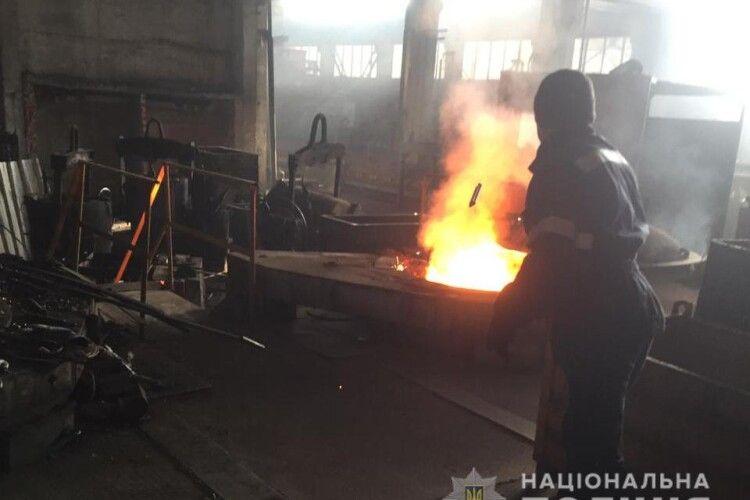 На ливарному заводі у Горохові знищили зброю та боєприпаси