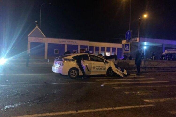 На Одещині ДТП із патрульним авто: є загиблий та травмовані