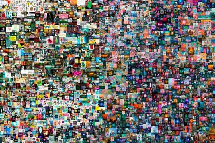 На аукціоні Christie's продали першу цифрову картину за рекордні $69 мільйонів (Відео)