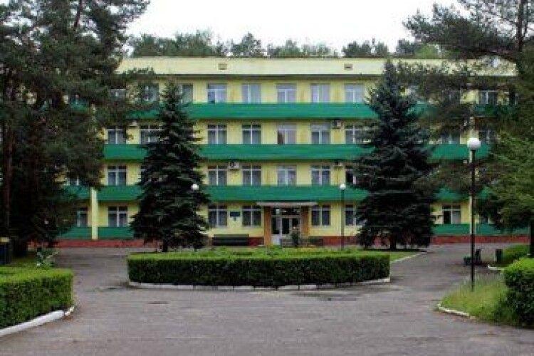 Лікувальний корпус санаторію «Лісова пісня» хочуть реконструювати