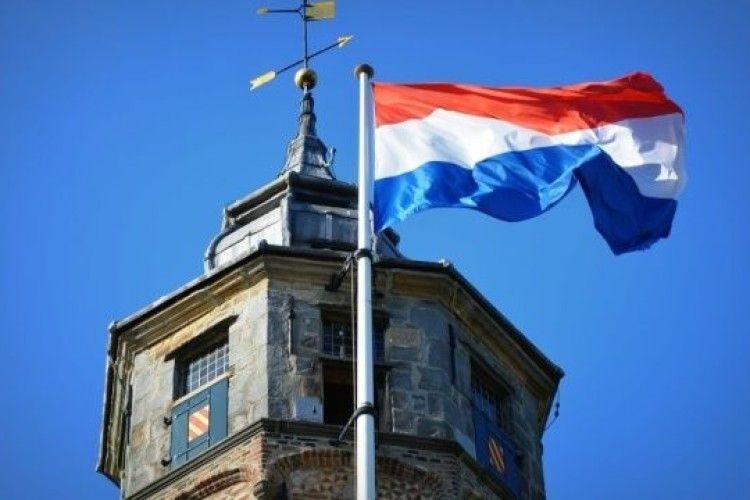 В Нідерландах відкрили пам'ятну дошку на будівлі першої дипмісії УНР