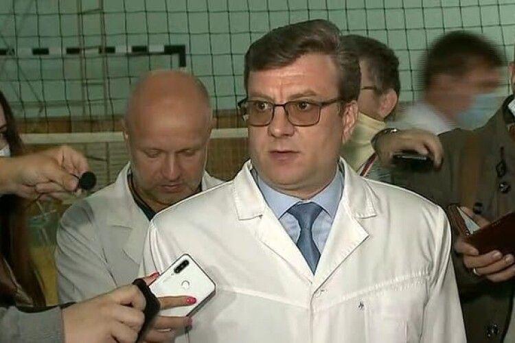 У Росії зник колишній головлікар лікарні, де лежав отруєний Навальний