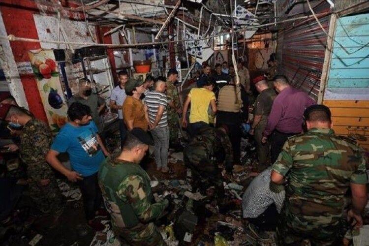 У Багдаді на ринку підірвалася смертниця: понад 20 загиблих (Відео)