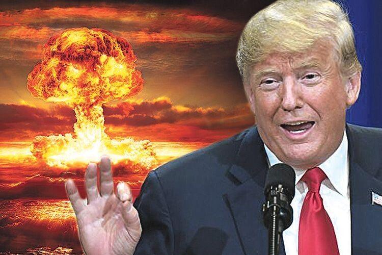 Дональд Трамп сходить з розуму: пропонує скидати атомні бомби на урагани