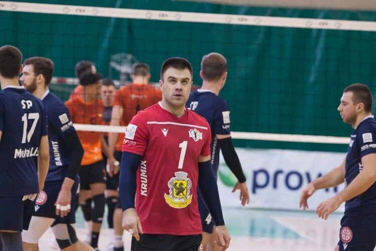 Волейбол: Дніпро отримав нового ліберо