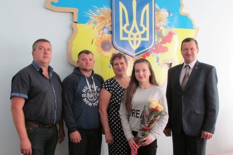 Валерія Козак із Камінь-Каширщини – кандидат у майстри спорту України