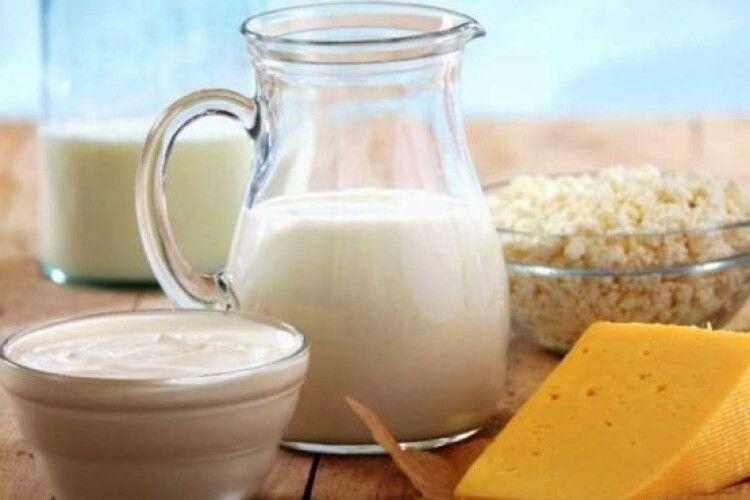 Яка вартість «молочного кошика» на Волині?