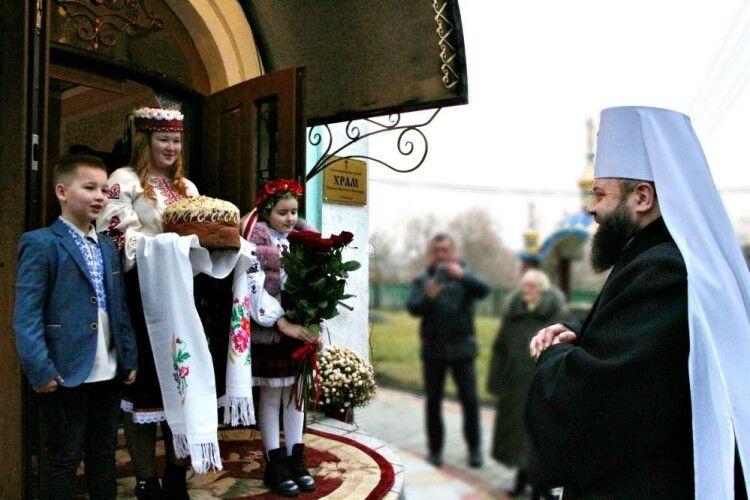 У Чарукові, Антонівцях та Марковичах можна буде помолитись разом із Митрополитом Волинським та Луцьким Михаїлом