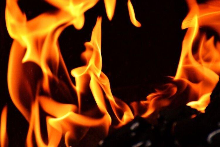 На Волині знову пожежа