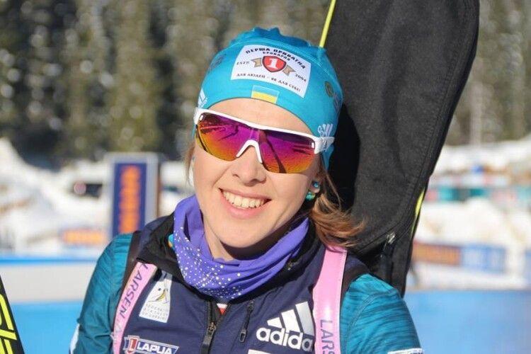 Юлія Джима увійшла в ТОП-10 у гонці з масовим стартом в Антхольці
