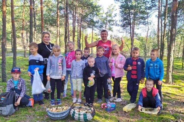 Волинським школярам провели урок грибознавства (Фото)