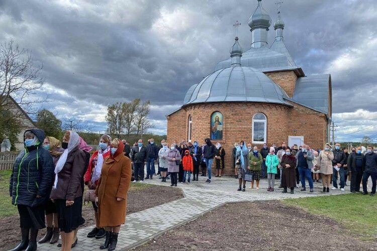 У волинському селі освятили недільну школу