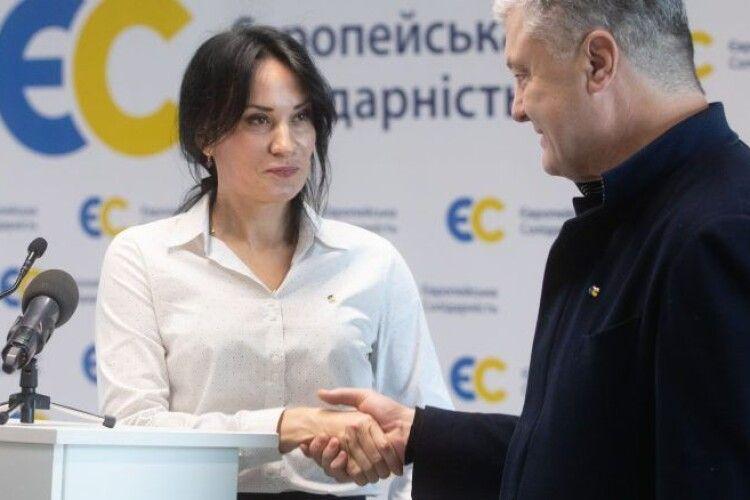 Порошенко закликав демократичні сили підтримати Марусю Звіробій на виборах