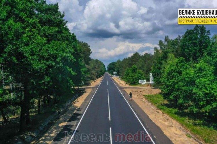 На Ковельщині відремонтовано 26 км дороги до Шацьких озер