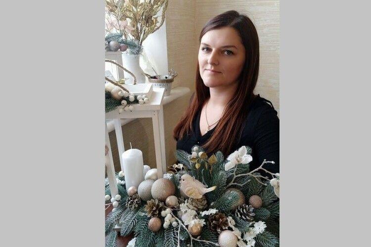 Ратнівчанка створила понад 500 новорічних композицій