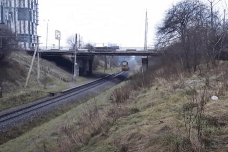 29-річна жінка стрибнула з моста під колеса поїзда