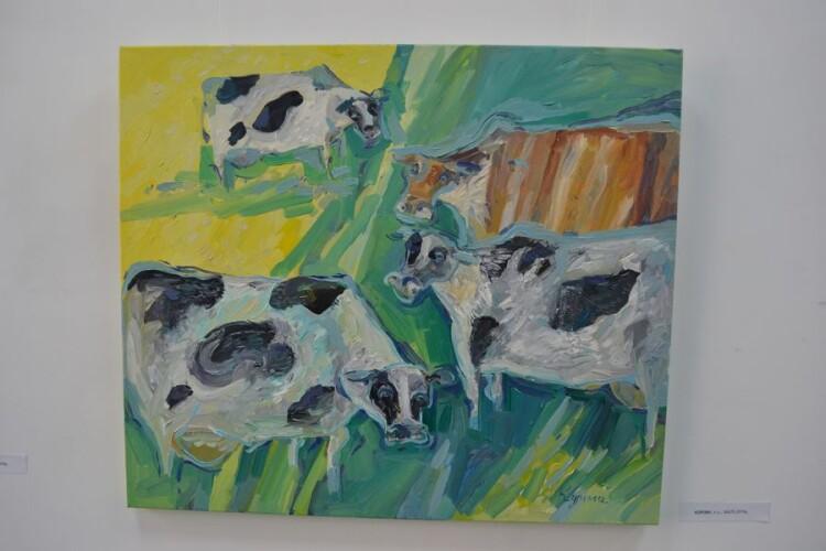 Корови.
