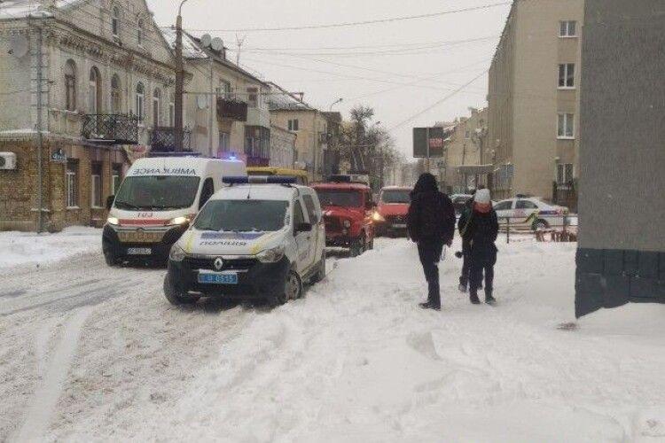 У центрі Луцька прогримів вибух (Фото)