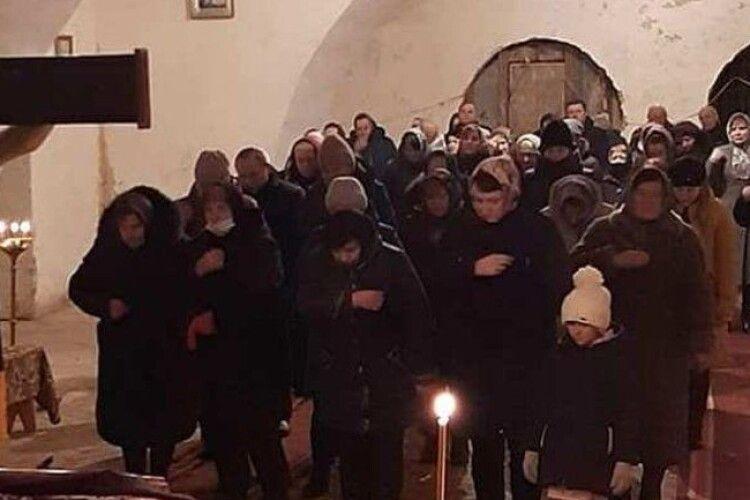 В історичній святині Берестечка після 60-річної перерви відновлено богослужіння