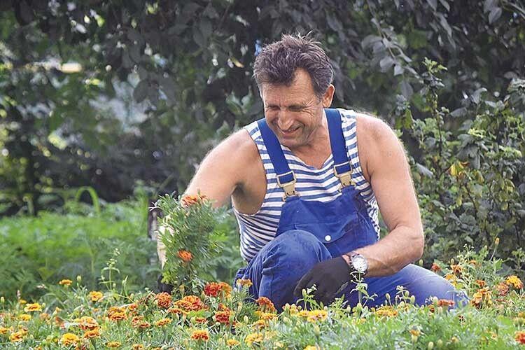 Василь Рижук посадив свої чорнобривці івБерліні!