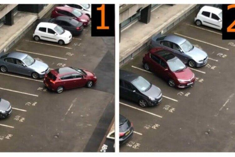Як не вміти поставити авто на вільній парковці: водій-«ас» розсмішив мережу (Відео)
