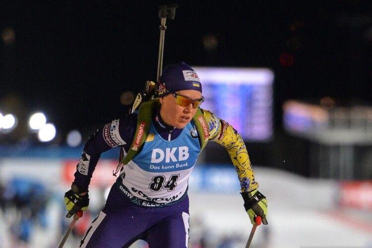 Анастасія Меркушина посіла 13 місце в індивідуальній гонці на ЧС з біатлону