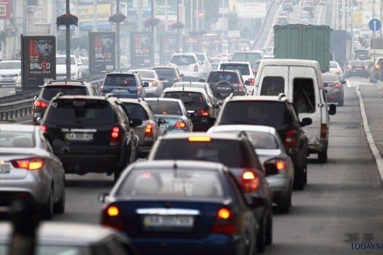 Київ посів сьоме місце у рейтингу міст з найбільшими заторами у світі
