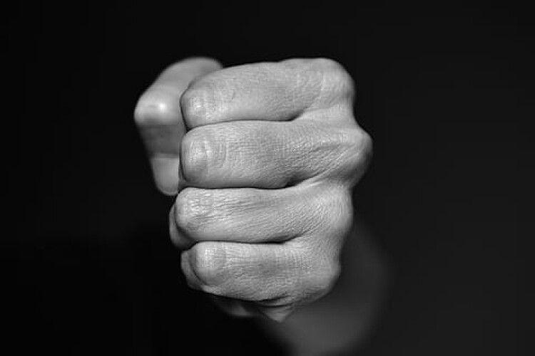 Домашній насильник із Луцька побив і поліцейського