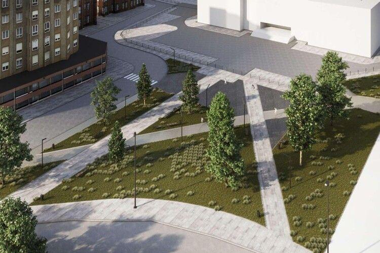 У Луцьку в 33-му мікрорайоні озеленять і оновлять сквер