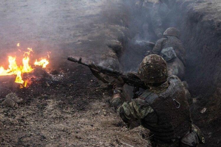 Росіяни шість разів обстріляли наші позиції