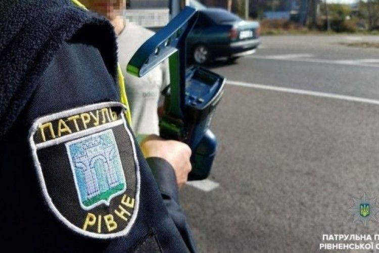 На Рівненщині активно карають «шумахерів»