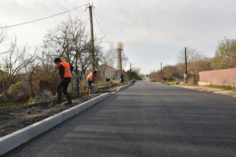 Капітально відремонтують вулицю у селі біля Луцька