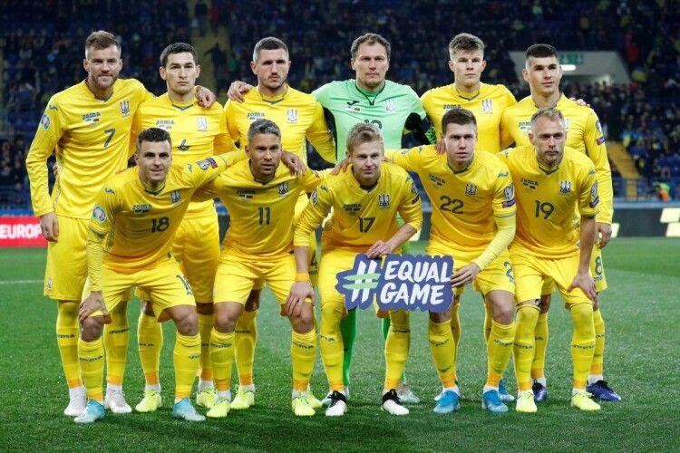 Збірна України завершила рік у ТОП-25 рейтингу ФІФА