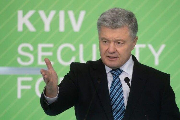 Петро Порошенко: «Кордон на першому етапі має бути перекритий миротворцями з мандатом Ради Безпеки ООН»