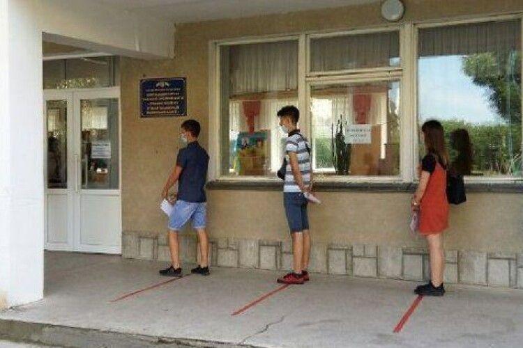 Підсумки ЗНО: 9 волинян склали іспит на 200 балів