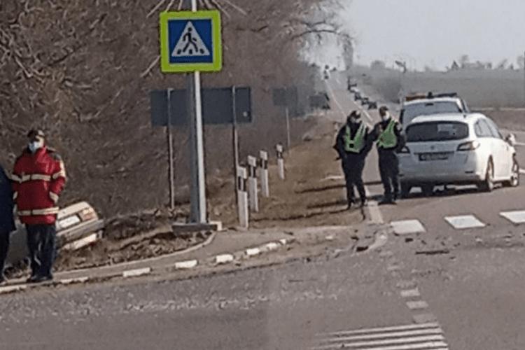 На трасі Луцьк-Горохів сталася аварія (Фото)